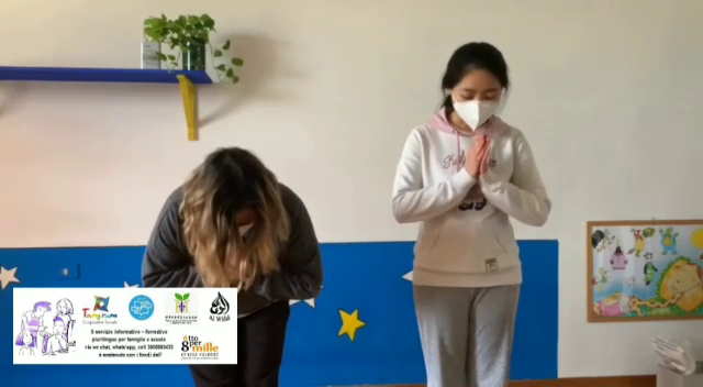YOGA E LETTERE (I, O, U). ATTIVITA' PLURILINGUE LED (Legami Educativi a Distanza)