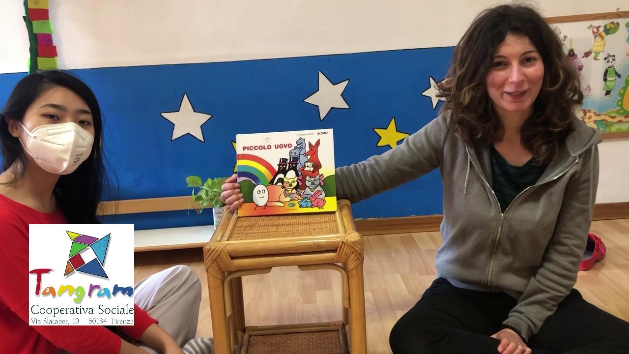 Piccolo Uovo – Francesca Pardi, Lo Stampatello Edizioni – Lettura plurilingue LED (Legami Educativi a Distanza)